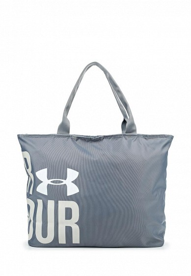 Сумка спортивная UA Big Word Mark Tote Under Armour серый UN001BWOIY48  - купить со скидкой