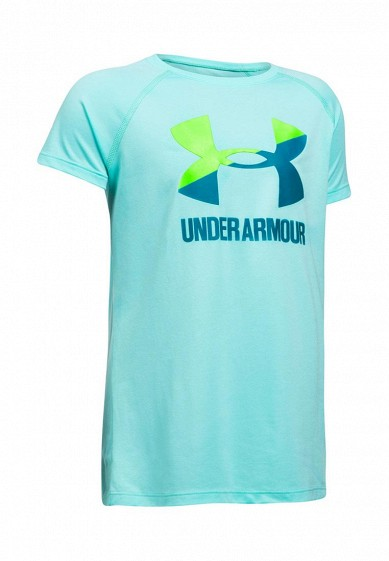 Купить Футболка Under Armour UA Solid Big Logo SS T-BIF UN001EGXVT94