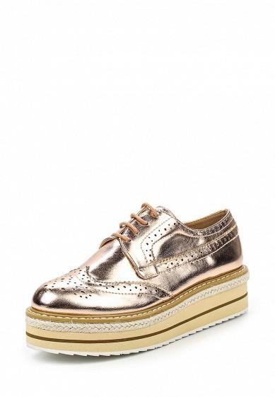 Ботинки Vera Blum золотой VE028AWQUY66 Китай  - купить со скидкой