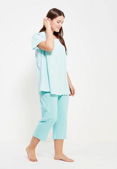 Купить Пижама Vis-a-Vis бирюзовый VI003EWYEH32 Китай