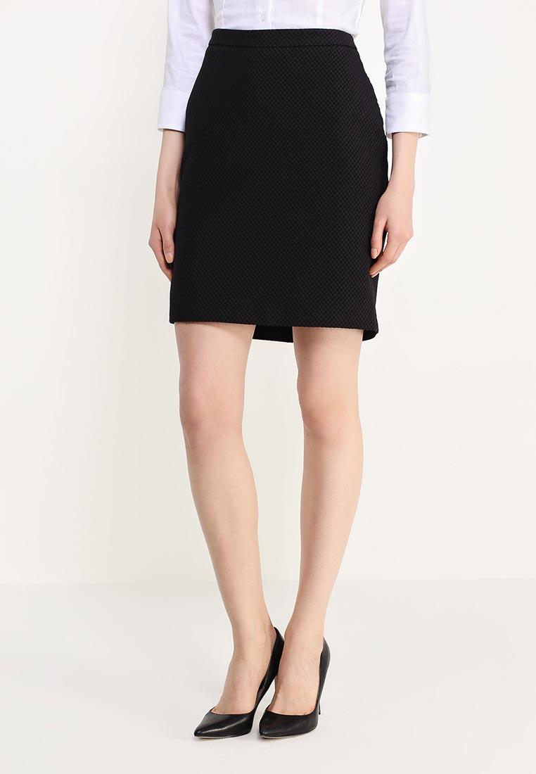 юбка черного цвета фото