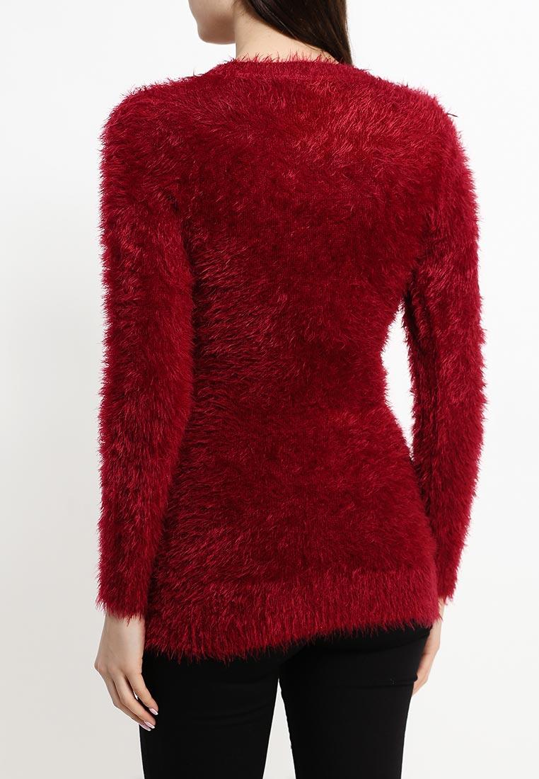 Пуловер Бордовый
