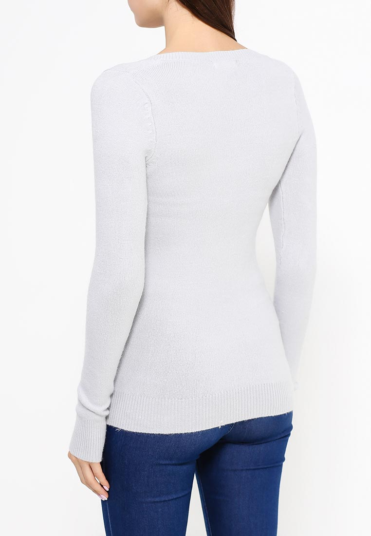 Серый Пуловер