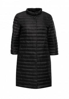 Пуховик, Add, цвет: черный. Артикул: AD504EWQIP31. Женская одежда / Верхняя одежда / Пуховики и зимние куртки