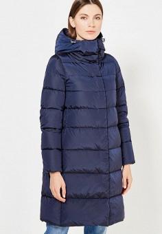 Пуховик, Add, цвет: синий. Артикул: AD504EWTCZ47. Женская одежда / Верхняя одежда / Пуховики и зимние куртки