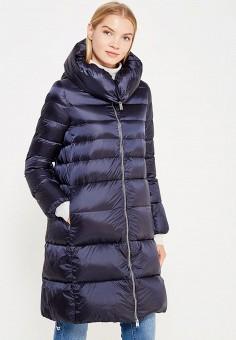 Пуховик, Add, цвет: синий. Артикул: AD504EWTCZ52. Женская одежда / Верхняя одежда / Пуховики и зимние куртки