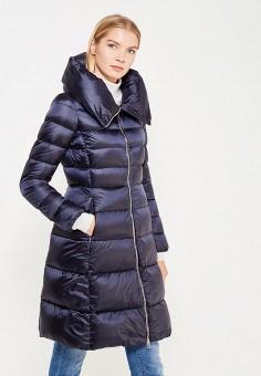 Пуховик, Add, цвет: синий. Артикул: AD504EWTCZ63. Женская одежда / Верхняя одежда / Пуховики и зимние куртки