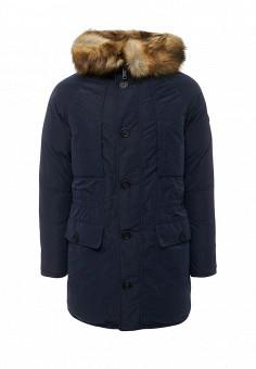 Пуховик, Armani Jeans, цвет: синий. Артикул: AR411EMTXV83. Премиум / Одежда / Верхняя одежда / Пуховики