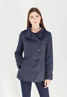 Куртка утепленная, Armani Jeans, цвет: синий. Артикул: AR411EWTYA62. Премиум / Одежда / Верхняя одежда / Пуховики и зимние куртки