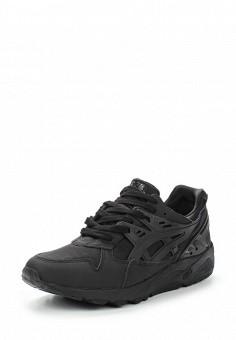 Кроссовки, ASICSTiger, цвет: черный. Артикул: AS009AUUMH76. Женская обувь / Кроссовки и кеды
