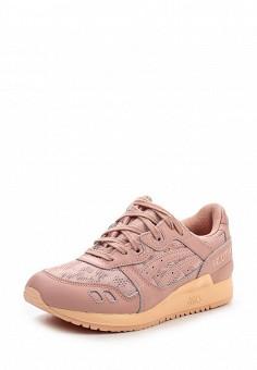 Кроссовки, ASICSTiger, цвет: розовый. Артикул: AS009AWOUQ66. Женская обувь / Кроссовки и кеды