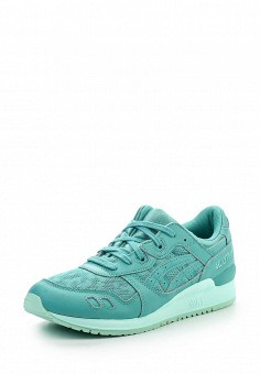 Кроссовки, ASICSTiger, цвет: бирюзовый. Артикул: AS009AWOUQ67. Женская обувь / Кроссовки и кеды