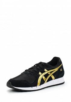 Кроссовки, ASICSTiger, цвет: черный. Артикул: AS009AWUMI20. Женская обувь / Кроссовки и кеды