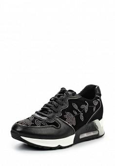 Кроссовки, Ash, цвет: черный. Артикул: AS069AWQQY70. Премиум / Обувь / Кроссовки и кеды
