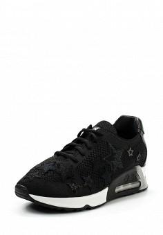 Кроссовки, Ash, цвет: черный. Артикул: AS069AWUIT59. Премиум / Обувь / Кроссовки и кеды