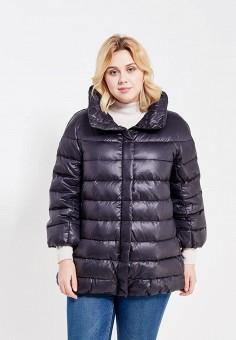 Пуховик, Baon, цвет: черный. Артикул: BA007EWWAM53. Женская одежда / Верхняя одежда / Пуховики и зимние куртки