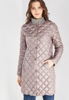 Пуховик, Baon, цвет: коричневый. Артикул: BA007EWWAQ52. Женская одежда / Верхняя одежда / Пуховики и зимние куртки