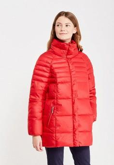 Пуховик, Baon, цвет: красный. Артикул: BA007EWWAQ54. Женская одежда / Верхняя одежда / Пуховики и зимние куртки