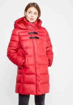 Пуховик, Baon, цвет: красный. Артикул: BA007EWWAQ55. Женская одежда / Верхняя одежда / Пуховики и зимние куртки