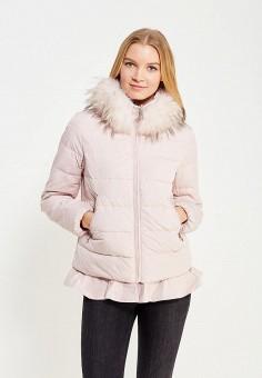 Пуховик, Baon, цвет: розовый. Артикул: BA007EWWAQ66. Женская одежда / Верхняя одежда / Пуховики и зимние куртки