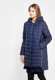 Пуховик, Baon, цвет: синий. Артикул: BA007EWWAR02. Женская одежда / Верхняя одежда / Пуховики и зимние куртки