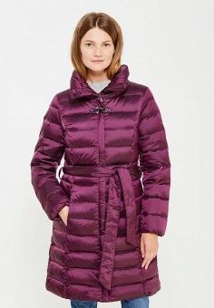 Пуховик, Baon, цвет: фиолетовый. Артикул: BA007EWWAR24. Женская одежда / Верхняя одежда / Пуховики и зимние куртки