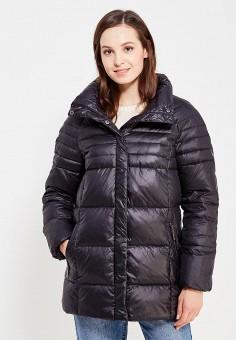 Пуховик, Baon, цвет: черный. Артикул: BA007EWWAR28. Женская одежда / Верхняя одежда / Пуховики и зимние куртки