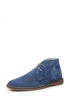 Ботинки, Bata, цвет: синий. Артикул: BA060AMQEF17. Мужская обувь / Ботинки и сапоги