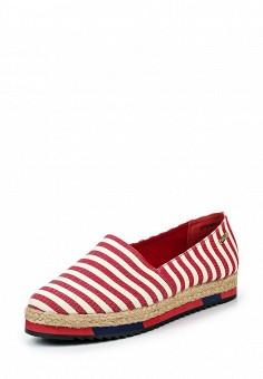 Эспадрильи, Betsy, цвет: красный. Артикул: BE006AWQBU43. Женская обувь