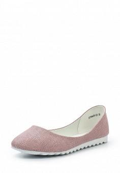 Балетки, Betsy, цвет: розовый. Артикул: BE006AWQBU95. Женская обувь