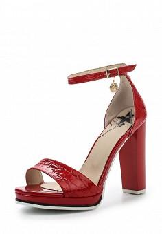 Босоножки, Betsy, цвет: красный. Артикул: BE006AWQBV19. Женская обувь