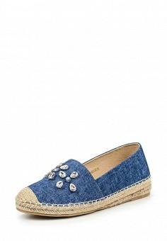 Эспадрильи, Betsy, цвет: синий. Артикул: BE006AWQCC97. Женская обувь