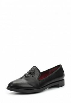 Лоферы, Betsy, цвет: черный. Артикул: BE006AWUDW36. Женская обувь