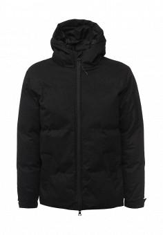 Куртка утепленная, Bellfield, цвет: черный. Артикул: BE008EMWSM93. Мужская одежда / Верхняя одежда / Пуховики и зимние куртки