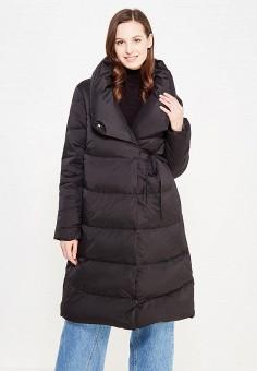 Пуховик, Befree, цвет: черный. Артикул: BE031EWYLT65. Женская одежда / Верхняя одежда / Пуховики и зимние куртки / Длинные пуховики и куртки
