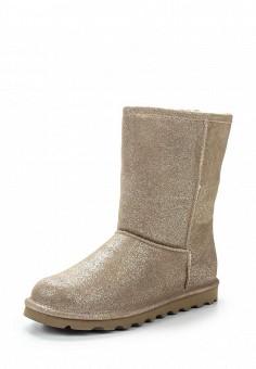 Полусапоги, Bearpaw, цвет: золотой. Артикул: BE223AWYBR45. Женская обувь / Сапоги