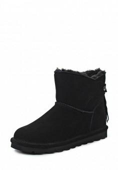 Полусапоги, Bearpaw, цвет: черный. Артикул: BE223AWYBR51. Женская обувь / Сапоги