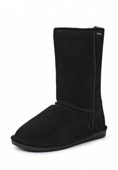 Полусапоги, Bearpaw, цвет: черный. Артикул: BE223AWYBR68. Женская обувь / Сапоги