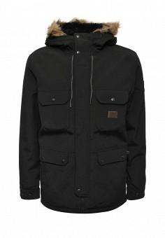 Парка, Billabong, цвет: черный. Артикул: BI009EMWJP28. Мужская одежда / Верхняя одежда / Парки
