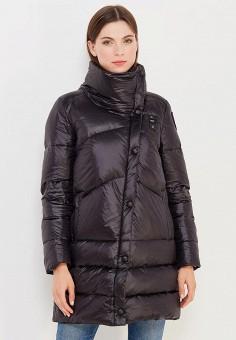 Пуховик, Blauer, цвет: черный. Артикул: BL654EWVFB61. Премиум / Одежда / Верхняя одежда / Пуховики и зимние куртки
