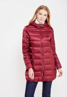 Пуховик, Bosideng, цвет: бордовый. Артикул: BO026EWVBC36. Премиум / Одежда / Верхняя одежда / Пуховики и зимние куртки