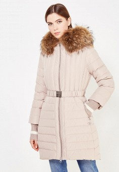 Пуховик, Bosideng, цвет: бежевый. Артикул: BO026EWVBC43. Премиум / Одежда / Верхняя одежда / Пуховики и зимние куртки