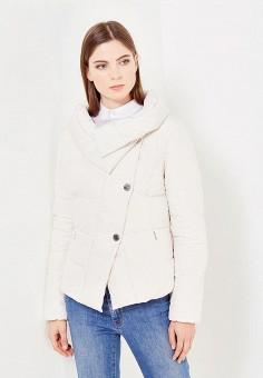 Пуховик, Bosideng, цвет: бежевый. Артикул: BO026EWVBC54. Женская одежда / Верхняя одежда / Пуховики и зимние куртки