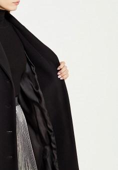 Пальто, Boutique Moschino, цвет: черный. Артикул: BO036EWUFP26. Премиум / Одежда / Верхняя одежда
