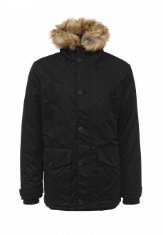Куртка утепленная, Burton Menswear London, цвет: черный. Артикул: BU014EMMGG35. Мужская одежда / Верхняя одежда / Пуховики и зимние куртки
