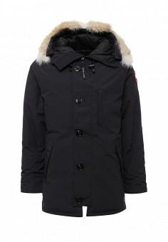 Пуховик, Canada Goose, цвет: черный. Артикул: CA997EMVBM32. Мужская одежда / Верхняя одежда