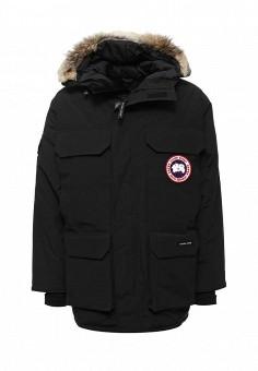 Пуховик, Canada Goose, цвет: черный. Артикул: CA997EMVBM34. Мужская одежда / Верхняя одежда