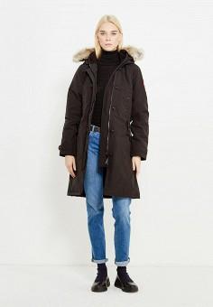 Пуховик, Canada Goose, цвет: черный. Артикул: CA997EWVBM46. Премиум / Одежда / Верхняя одежда / Пуховики и зимние куртки
