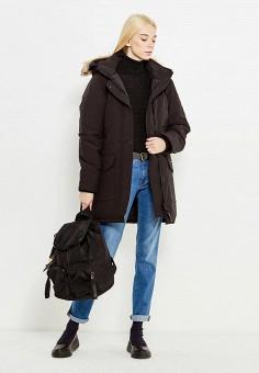 Пуховик, Canada Goose, цвет: черный. Артикул: CA997EWVBM55. Женская одежда / Верхняя одежда