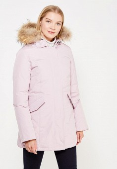 Пуховик, Canadian, цвет: розовый. Артикул: CA998EWTCE14. Премиум / Одежда / Верхняя одежда / Пуховики и зимние куртки